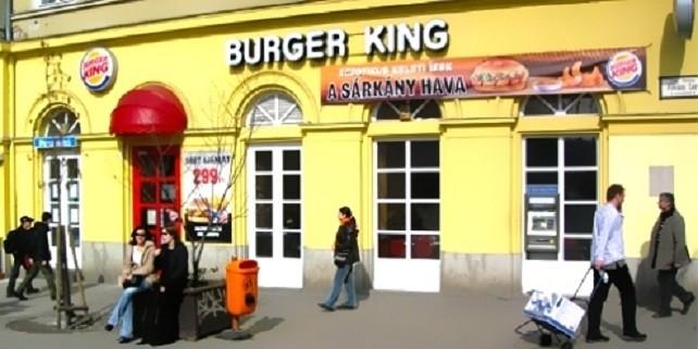 Burger King Fővám , Budapest